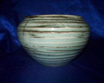 Studio Pottery Turned Bowl by 'Ann Bailey'