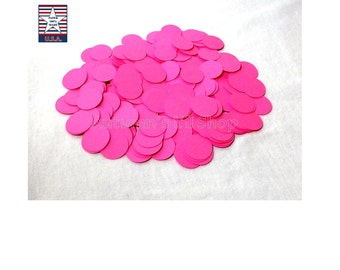 Pink Circle Diecuts, Girl Baby Shower Confetti, Circle Die Cut Cardstock, Pink Round Cardstock, Pink Bridal Shower, Neon Party, 350 CT