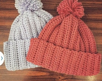 Ribbed Hat (Adult)