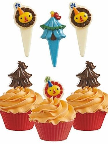 Wilton Big Top Candypick Chocolate Mold Cupcake Picks