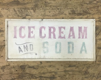 Ice Cream and Soda