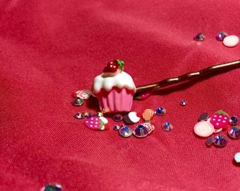 Cupcake Bobbypins