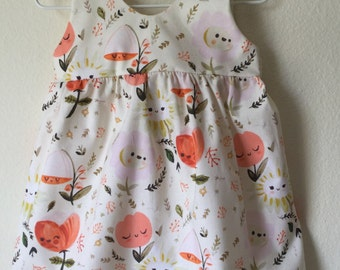 Baby girls/Toddler/Little Girls Sleeveless Dress