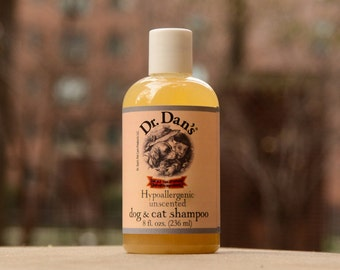 Dr.Dan's Hypoallergenic Cat and Dog Shampoo for Itchy Skin