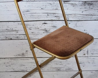 Gold Frame Chair Etsy