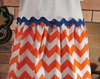 T-Shirt Dress/Florida Gator Dress/Personalized Dress/Size 4T Dress/Ready to Ship Dress