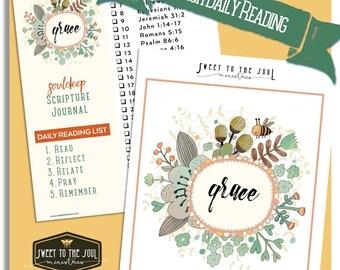 Grace - Soul Deep Daily Scripture Journal Download