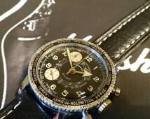 Lucerne Telemeter Vintage Watch. Vintage Lucerne Sport Watch. Vintage Panda Dial Watch. Vintage Watch. World Timer. Vintage Box.
