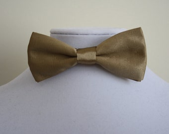golden Bow tie for man - bow tie wedding