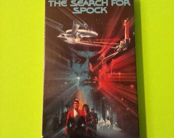 Star Trek III: The Search for Spock - William Shatner Leonard Nemoy George Takei Christopher Lloyd Gene Roddenberry 80s VHS video tape