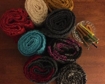 Quality Crocheted Scarves