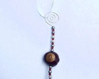 Buckeye Ornament (A7)