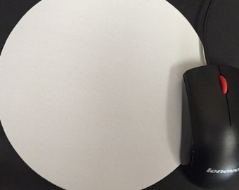 Blank Round Mouse Pad