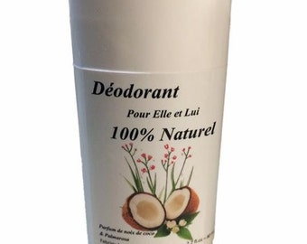 100% NATURAL DEODORANT