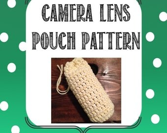 Camera Lens Pouch Pattern