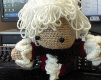Custom Crochet Doll