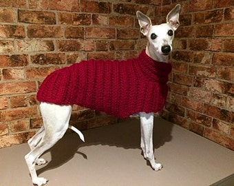 "Whippet Sweater / Jumper (Medium 20"")"