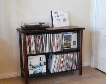Exceptional Turntable Stand U0026 LP Storage. Made From Reclaimed Wood.