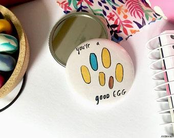 Good Egg pocket mirror