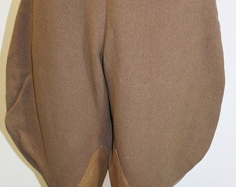 1930's Brown Wool Riding Breeches