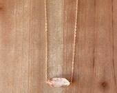 Strawberry Quartz Necklace
