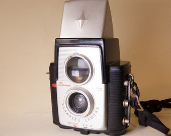KODAK Brownie Starflex Camera Vintage Photography Vintage 1950's Camera