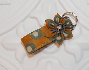 Mini Key Fob | Fabric Key Fob |  Key Chain | Fabric Keychain | Stocking Stuffer