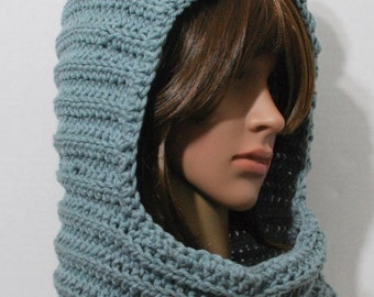 Women's Snood Grey Mouse