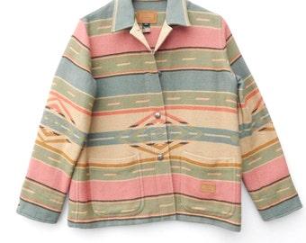 S.A.L.E......Ralph Lauren ......Southwestern Navajo Indian Silver Buttons Jacket