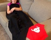 Toothless Dragon Tail Blanket | How to Train Your Dragon | Child | Infant| Adult