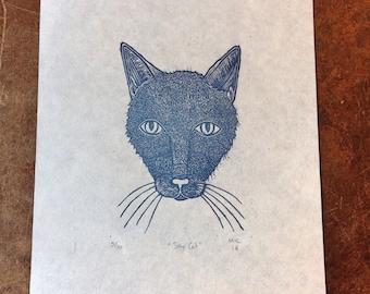 Sky Cat Print