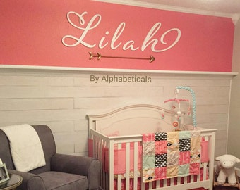 Wooden Letters for Nursery for Wall Hanging Decor Wooden Signs