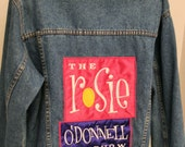 Rosie O'Donnell Show Jacket - Blue Jean Denim - Talk of the Town - Large