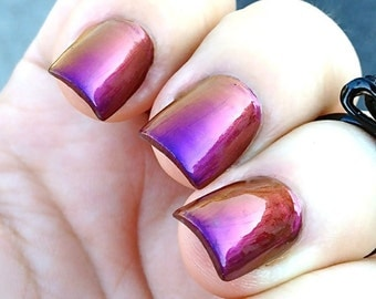 Mega Multichrome (Vixen)  Multi-Color Shifting Polish:  Custom-Blended Glitter Nail Polish / Indie Lacquer / Polish Me Silly
