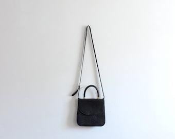Top Handle Cross Body Mini Bag