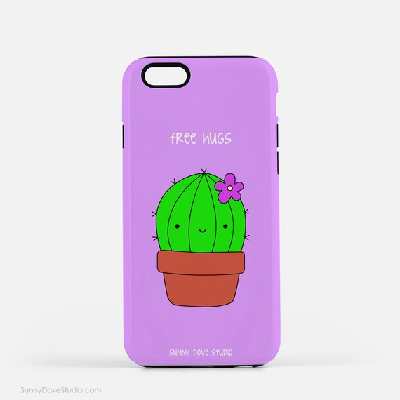 Funny Phone Case Cute iPhone Cases Cactus Pun Birthday Gift For Friend ...