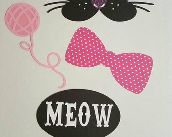 Crazy Cat Lady Photo Booth Props or Centerpiece! Cat Lady! Cat Lover! Bithday Party, Halloween Party,Retirement Party