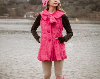 flamingo costume headdress