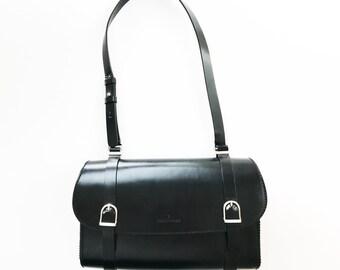 Elegant Trussardi Shoulder Bag, Black