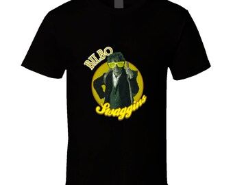 The Hobbit Tshirt, Bilbo T Shirt, The Hobbit Bilbo Swaggin T Shirt,The Hobbit Shirt