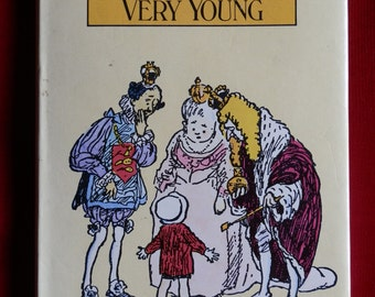 Vintage Book: When We Were Very Young by A A Milne Published by Methuen's Children's Books 1977