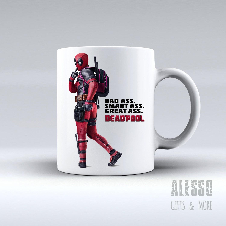 DEADPOOL inspired MUG Personalised Marvel Deadpool coffee tea