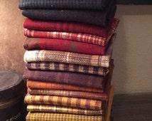 Fabric: 21 Fat Quarter Bundle Primo Plaid Collection Marcus Fabrics