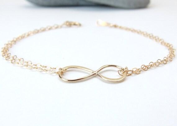 bracelet infini bracelet demoiselle dhonneur bracelet. Black Bedroom Furniture Sets. Home Design Ideas