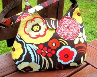 HOBO BAG, HOBO Purse, Floral Bag, Shoulder Bags, Women's Handbags, Women's Purses, Made To Order