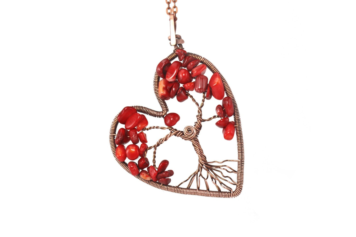 tree of pendant tree necklace wire tree of