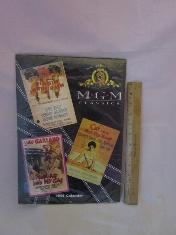 Calendar MGM 1995 Classic Movies