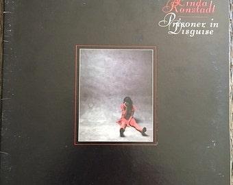 Linda Ronstadt Prisoner In Disguise LP - 7E-1045 - Vintage Linda Ronstadt Album - Linda Ronstadt Vinyl Record