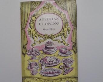 Vintage Austrian Cookbook Austrian Cooking Gretel Beer 1959 Austria