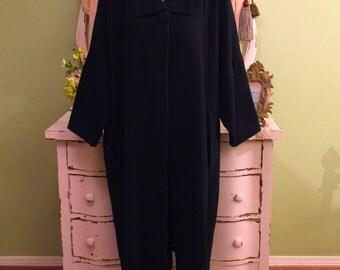 Minimalist Coat, Oversized Angular, Black Wool Coat, M-XL, Long Cocoon Coat, Womens Black Coat, Avant Garde Coat, Unique Couture Coat, M-XL